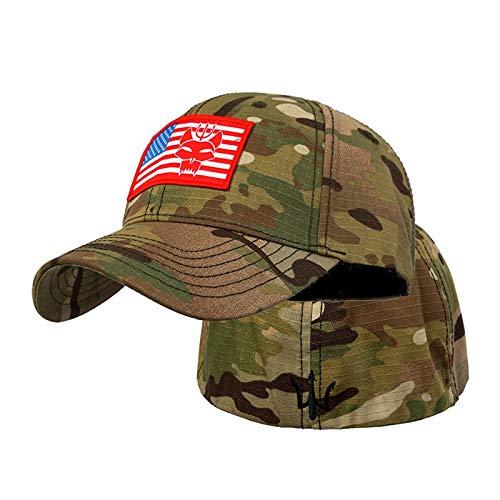 Gorra de béisbol táctica'SEAL TEAM Punisher' para hombres y mujeres, gorra de béisbol táctica Snapback, gorra de pescar para correr