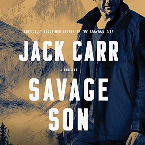 Savage Son audiobook cover art