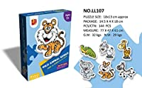 Murakush 子供のおもちゃ 漫画パターン パズル 教育 子供パズル ジグソーパズル 初心者 簡単 楽しむ 子供 挑戦おもちゃ #7