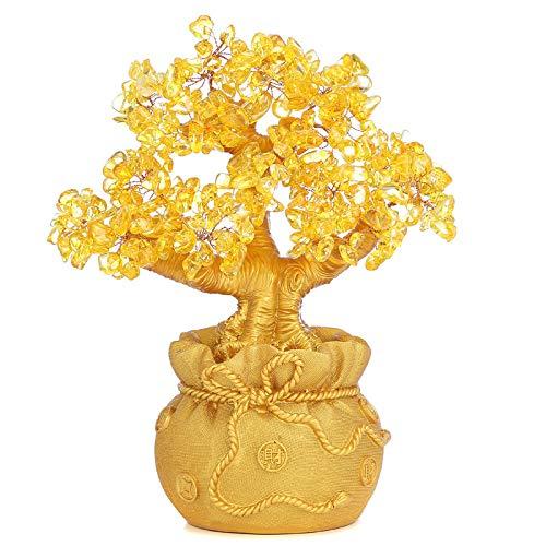 LUSU Figurines Ornamenten Meisjes Figurines Ornamenten Citrien Rijke Boom Schommelingen Ornament Ambachten Aan Rijke Boom