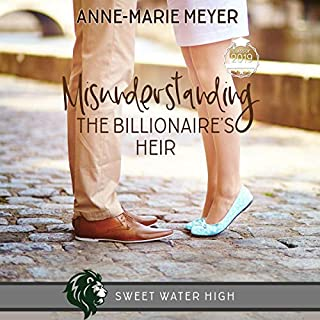 Misunderstanding the Billionaire's Heir: A Sweet YA Romance audiobook cover art