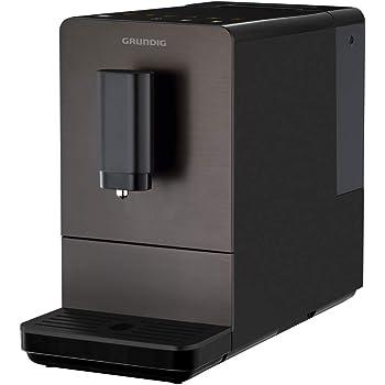 Grundig KVA 4830 - Cafetera automática (frontal de acero inoxidable), color negro y plateado: Amazon.es: Hogar