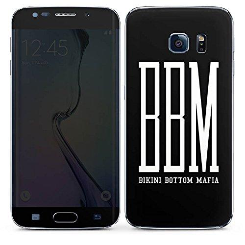 DeinDesign Samsung Galaxy S6 Edge Folie Skin Sticker aus Vinyl-Folie Aufkleber Bbm Bikini Bottom Mafia Spongebozz