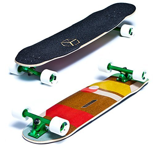 Loaded Tesseract Cantellated Complete Longboard (Pro Build) by Loaded