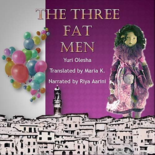 The Three Fat Men audiobook cover art