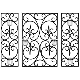 Safavieh Wall Art Collection Elegant Scrolls Candle Holder Wall Sconce