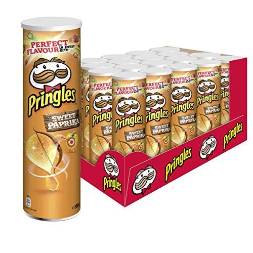 Pringles Sweet Paprika Chips | 19er Vorratspackung (19x200g)