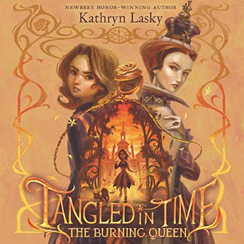 Tangled in Time 2: The Burning Queen audiobook cover art