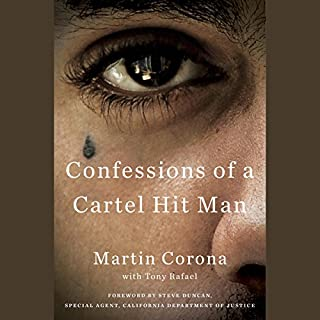 Confessions of a Cartel Hit Man audiobook cover art