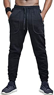 AIMPACT Mens Jogger Pants Gym Tapered Sweatpants Slim Fit with Pockets