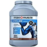 Maximuscle Cyclone Whey Protein Powder with Creatine, Chocolate, 1.26 kg