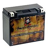 CB CHROMEBATTERY PWS-YTX20HL-BS Power Sports Battery
