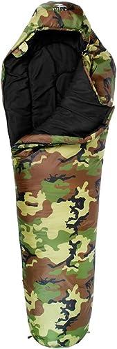Sac de Couchage - Polyester 70D   Chun Yafang, Sac de Couchage Simple et Sauvage pour Le Camping intérieur Camouflage Adulte Adulte Quatre Saisons (Couleur   B, Taille   1.3KG)