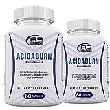 (2 Pack) Acidaburn Detox Cleanse Formula, Acidaburn Pills for Weight Loss, Acidburn Pills and Gut Support, Acida Burn 120 Capsules, 2 Month Supply