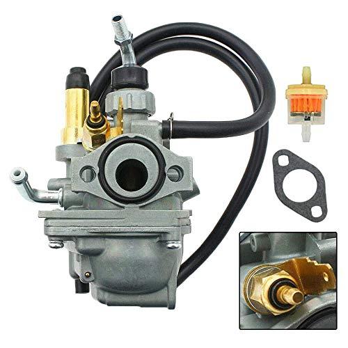HandyTek TTR50 Carburetor Compatible with Yamaha TTR 50 TTR50 50E Dirt Bike 2006-2011 Motorcycle 50cc, TTR50 Carb with Heater,Replacement 1P6-E4101-10-00 1P6-E4101-10-00
