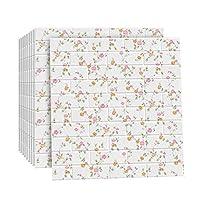 音響パネル - はがせる壁紙 模造レンガ柄フォーム粘着装飾壁紙10個70x77cm厚さ約3mm (Color : M4, Size : 77x70cm)