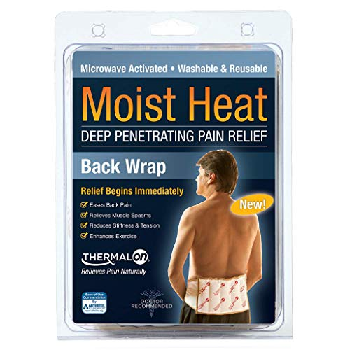 Thermalon Microwave Activated Moist Heat Therapy Wrap for Back, Hip and Shoulders. 7