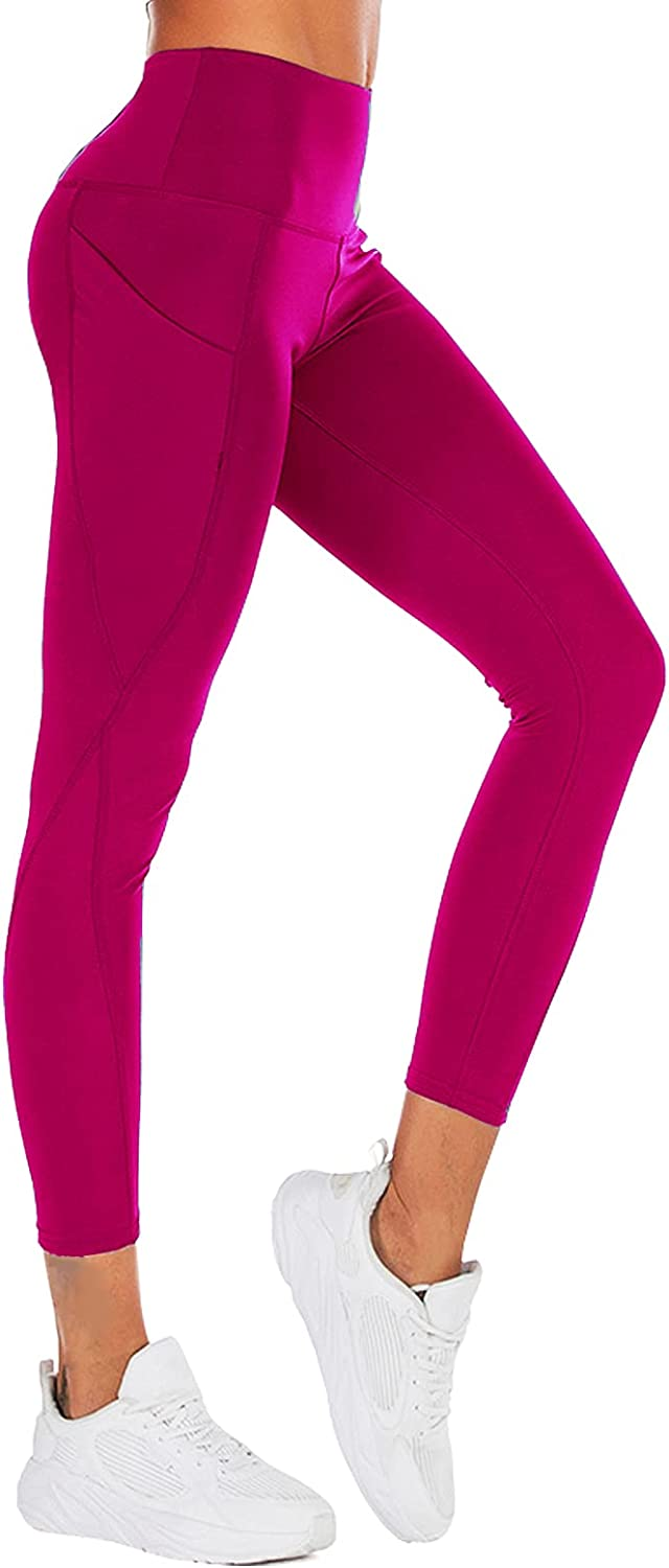 Joyj store Excellence High Waist Yoga Pants with Women Very popular Pocket for Leggings