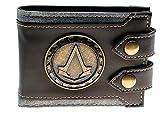 Assassin A Cartoon Character Leather Bi Fold Wallet