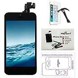 Trop Saint Pantalla Completa Compatible con iPhone 5C Negro - Kit de...
