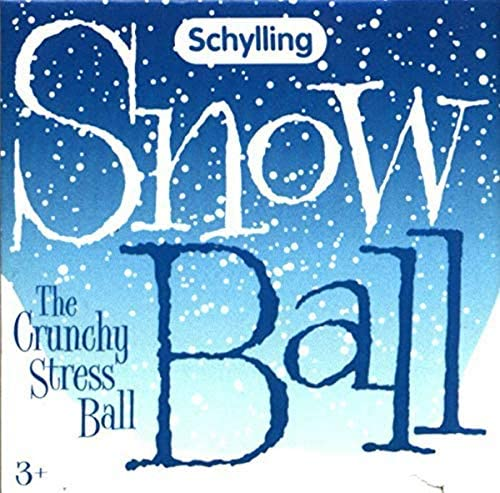 Schylling Snow Ball Crunch Stress Ball product image