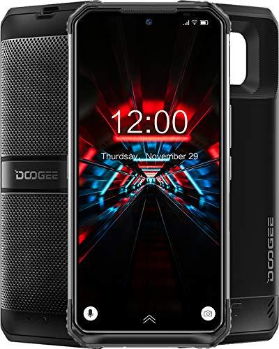 DOOGEE S95 PRO Super (2020) teléfonos resistentes desbloqueados, 8 GB + 256 GB, 48 MP AI triple cámara trasera Helio P90 Octa-Core carga inalámbrica, IP68 impermeable teléfonos celulares 6.3 pulgadas 5150 + 3500 mAh Global 4G Phone, NFC