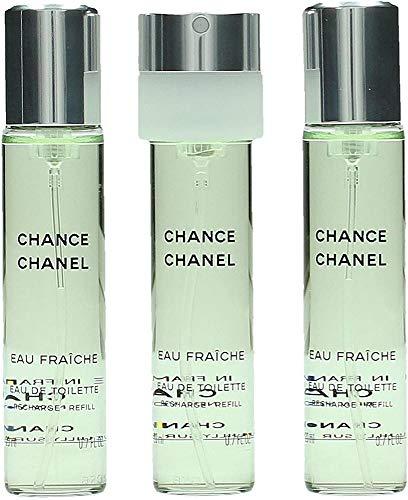 Chanel Chance Fraiche giftset, Eau de Toilettespray refill, 1er Pack (1 x 60 ml)