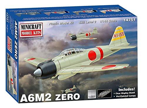 Minicraft Models 584751 1/144 A6M2 Zero - Maqueta de coche (variado) , color/modelo surtido
