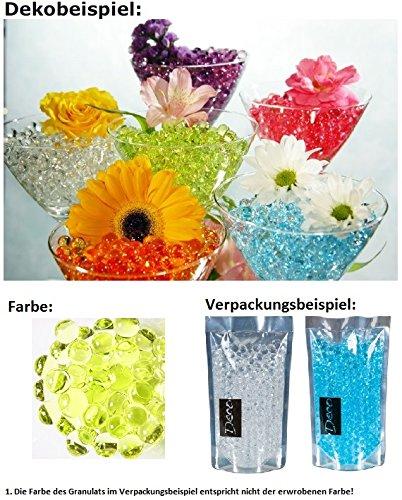 Deko, Dekoperlen,Aqualinos+Giant Pearls Wasserperlen Farbe Lime 15-18mm