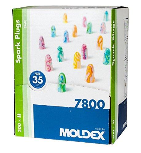 Moldex SparkPlugs Bouchons d'oreille en mousse ultra...
