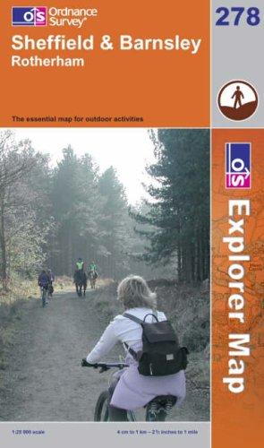 OS Explorer map 278 : Sheffield & Barnsley