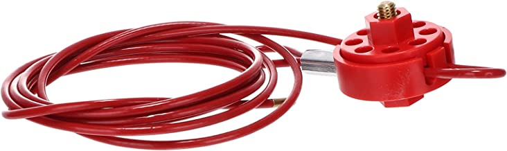 DOITOOL Verstelbare Kabelslot Lockout Tagout Kabelslot Industriële Apparatuur Shutdown Veiligheidsslot Klep Slot Industrië...