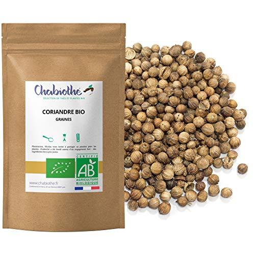 Semillas de Cilantro BIO 200g - granos enteros orgánico - bolsa biodegradable