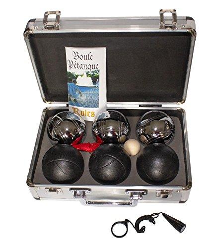 Jaques von London Stahl Boules Garten Boule Spiel Petanque Set