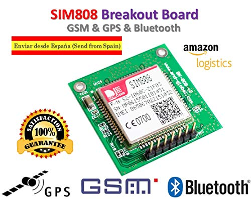 SIM808 Module GSM GPRS GPS Breakout Board SIM808 for Arduino Raspberry | Scheda SIM808 GSM GSM GPRS Breakout SIM808 per Arduino Raspberry