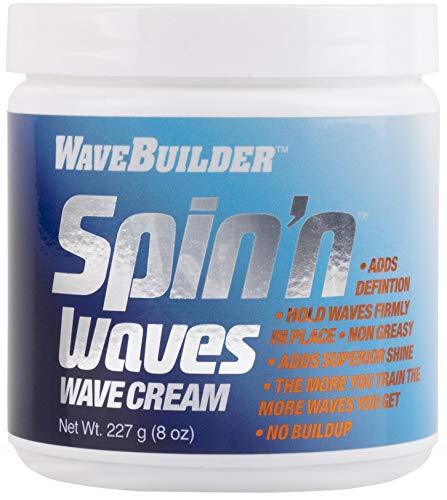 WaveBuilder Spin'n Waves Wave Cream | Non Greasy Adds Superior Shine...