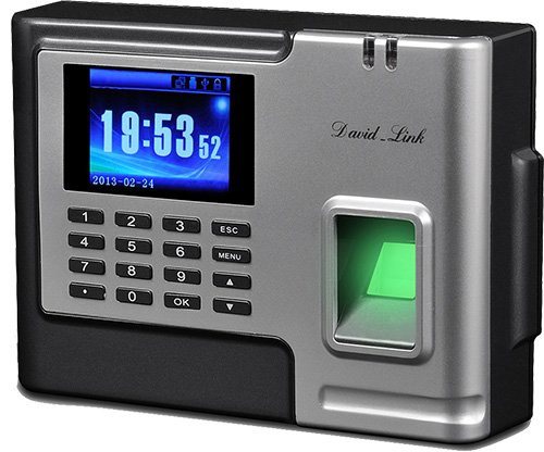 David-Link W-1288PB Biometric Employee Time and Attendance System with Fingerprint and RFID Identification, Battery Backup, Remote Report Access