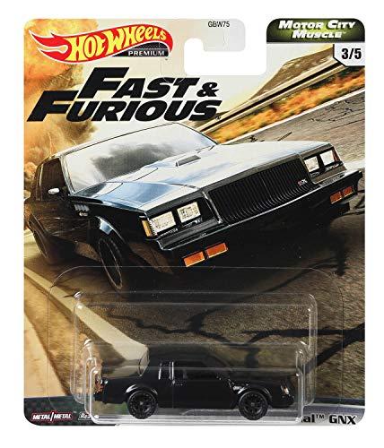 Hot Wheels Auswahl: Premium Car Fast & Furious - Motor City Muscle (GJR71 - 87er Buick Grand National GNX)