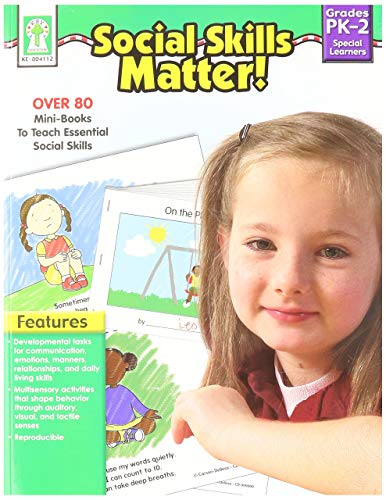 Social Skills Matter! Resource Book Grades PK - 2