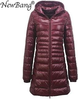 Nobrand TGLAYA Ladies Long Warm Down Coat Women Ultra Light Down Jacket