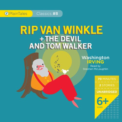 Rip Van Winkle and The Devil and Tom Walker cover art