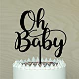 Decoración para tarta de bebé para baby shower, pañal para fiesta de pastel...
