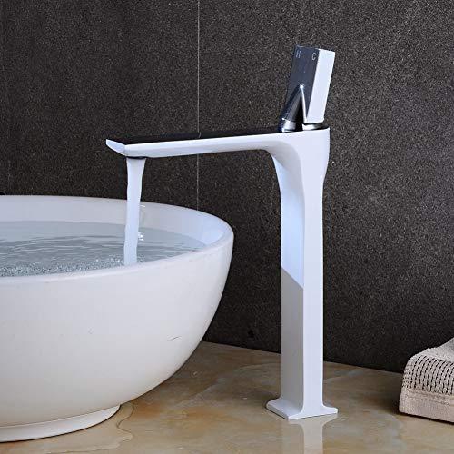 YHSGY Waschtischarmaturen Warmes Und Kaltes Becken Wasserhahn Badezimmer Waschbecken Wasserhahn Über Theke Becken Wasserhahn