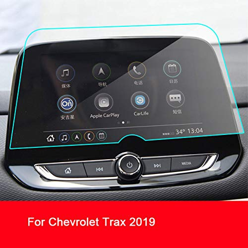 LUVCARPB Protecteur d'écran de Navigation de Voiture, adapté pour Chevrolet Trax 2014-2019, Protection Transparente d'affichage en Verre trempé 9H