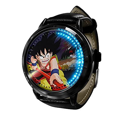 Anime Rick Morty LED Watch LED Touch Watch Relojes de Novedad Relojes Deportivos Reloj Personalizado Unisex WristWatches Mejor Regalo de cumpleaños-Animación1