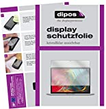 dipos I 2X Schutzfolie klar kompatibel mit Apple MacBook Pro 13 Zoll (2020) Folie Displayschutzfolie