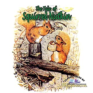 The Tale of Squirrel Nutkin audiobook cover art