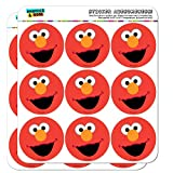Sesame Street Elmo Face Planner Calendar Scrapbooking Crafting Stickers