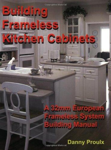 Building Frameless Kitchen Cabinets