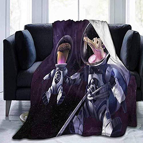 KINGAM Supersoft Blanket Best Cobija I-C-E A-Ge Super Suave Manta para niños